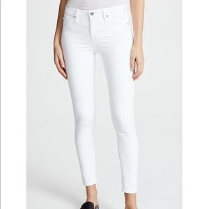 AG Jeans White Stretchy Jeans